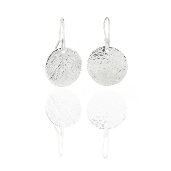 Lace Disc Earrings