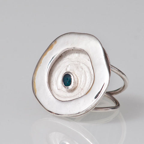 Magic Rockpool Opal Ring #5