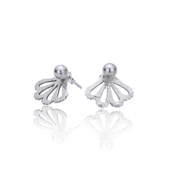 Peekaboo Sterling Studs 5mm