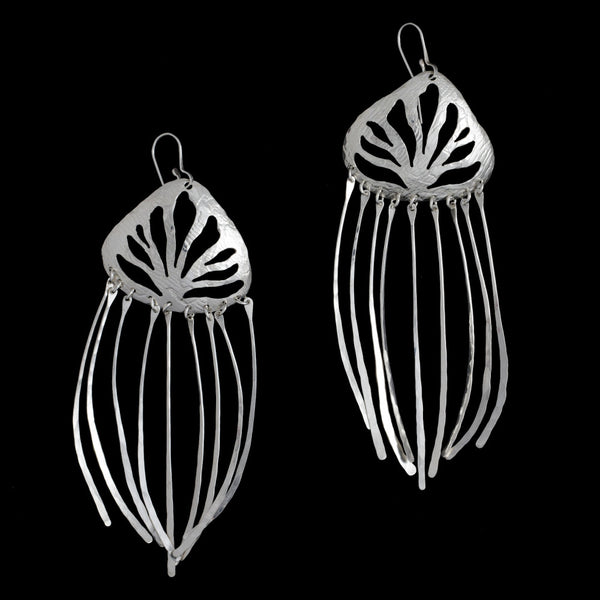 Sea Grass Earrings Dangly
