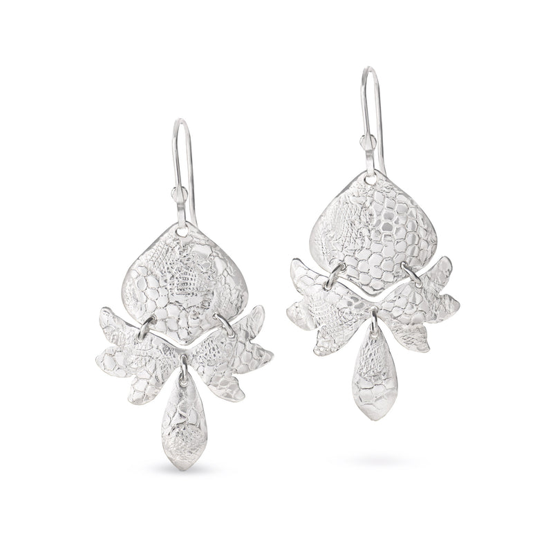 Waratah Earrings