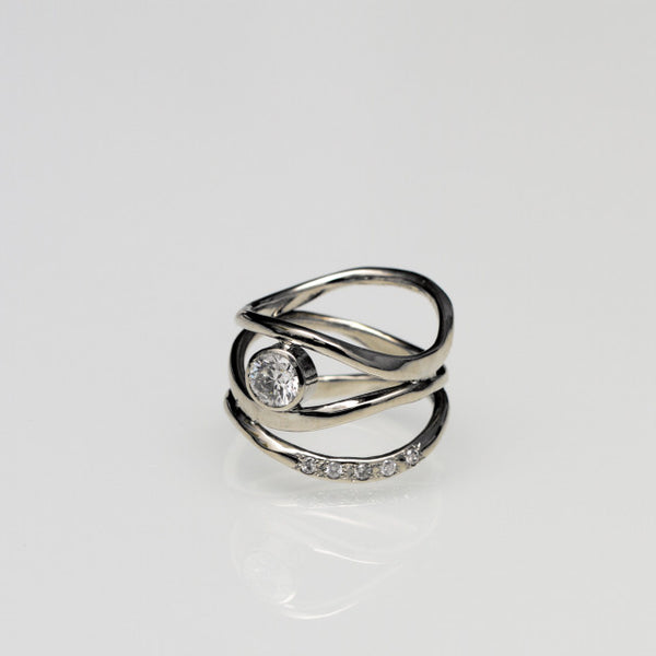 Ripples Ring Custom