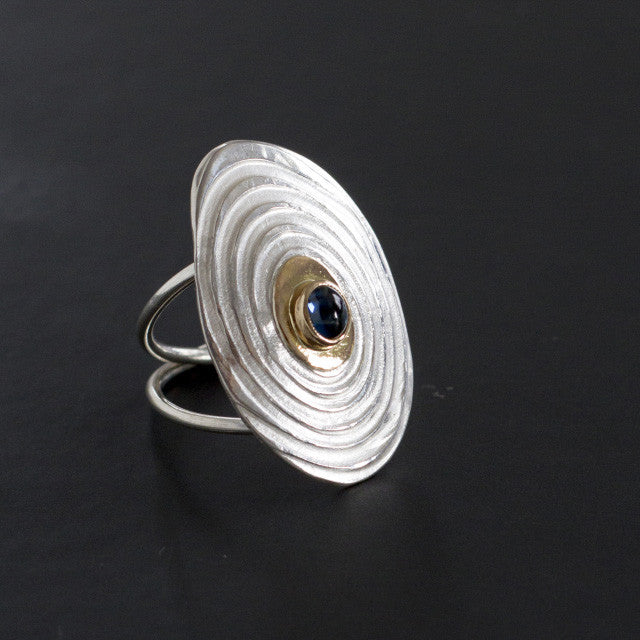 Tor Ring with Sapphire #1