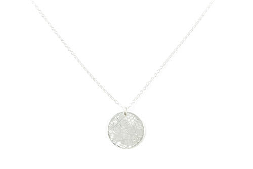 Lace Disc Pendant