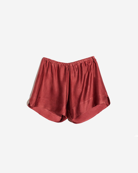 Lounging Silk Boy Short
