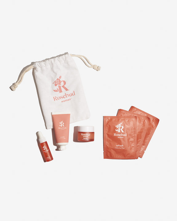 Rosebud Skincare Travel Kit