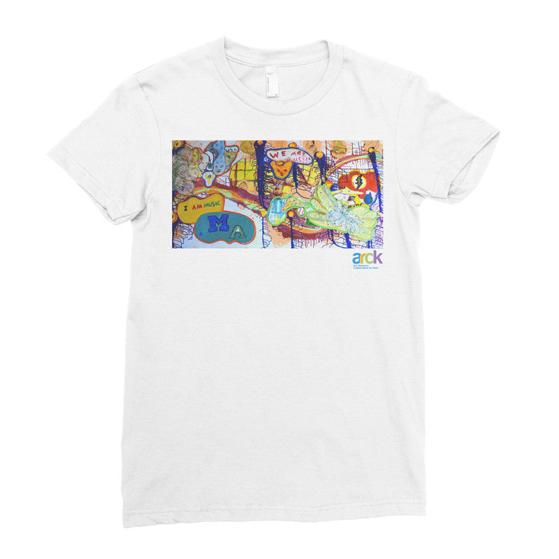 ARCK Mural - Adult T-shirt - Rightside Shirts