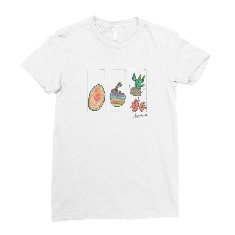 Dhiovana, 1st grade - Adult T-shirt - Rightside Shirts