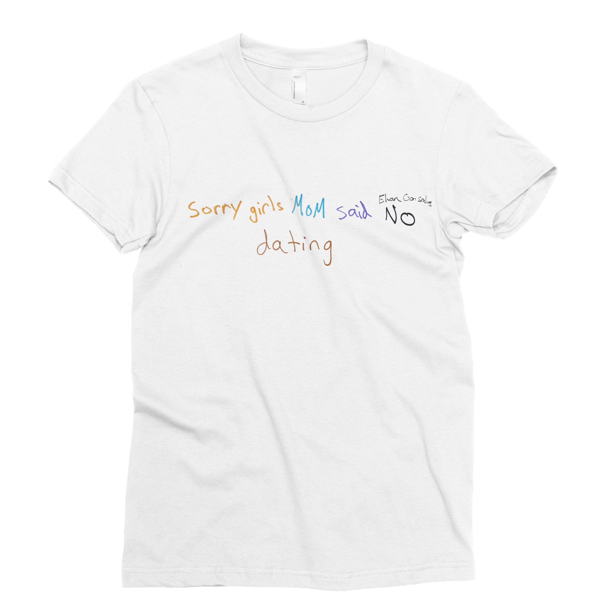 Too bad #1 - Adult T-shirt - Rightside Shirts