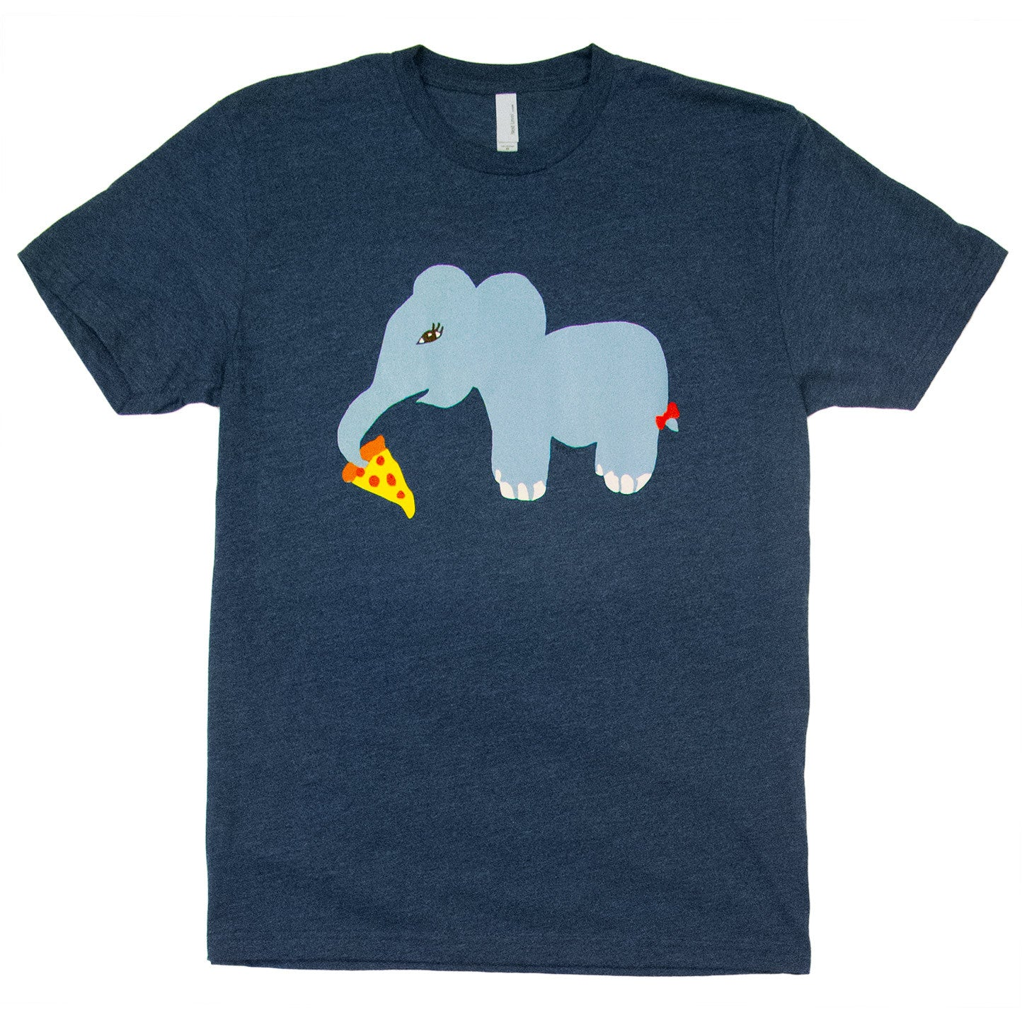Elephant Pizza by Stella, 8th grade - Adult T-shirt - Rightside Shirts - 1