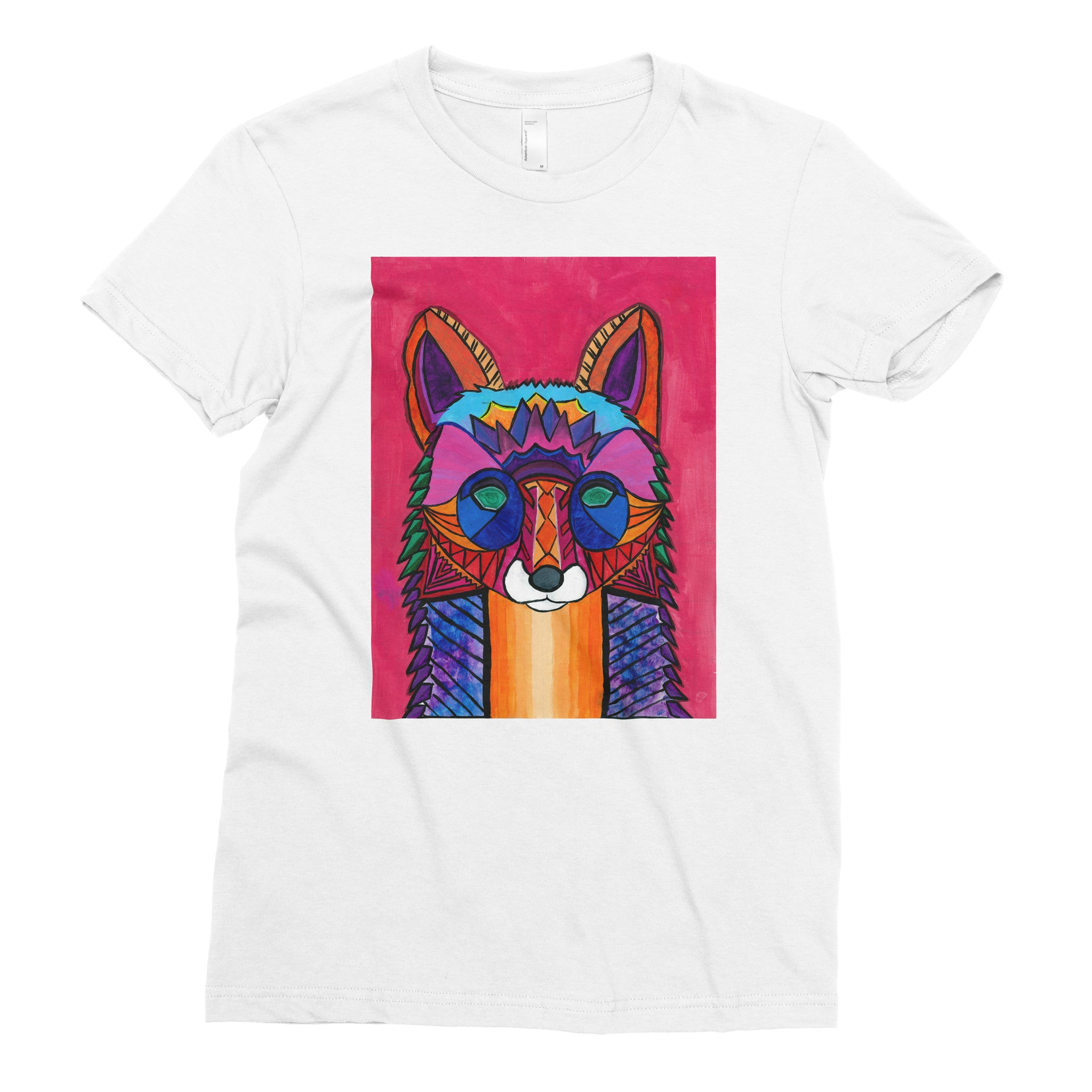 The Voice of the Fox by Mithsuca, 8th grade - Adult T-shirt - Rightside Shirts - 1