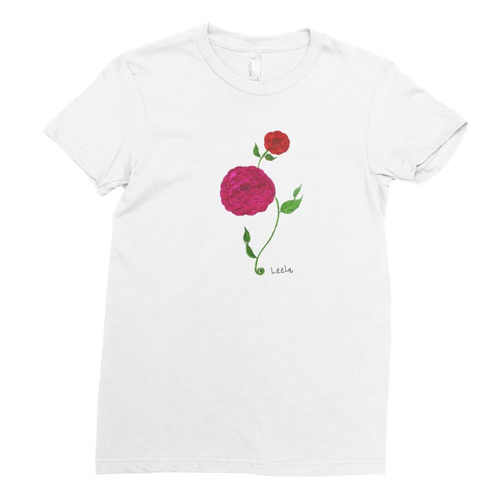 Pretty Flower - Adult T-shirt - Rightside Shirts