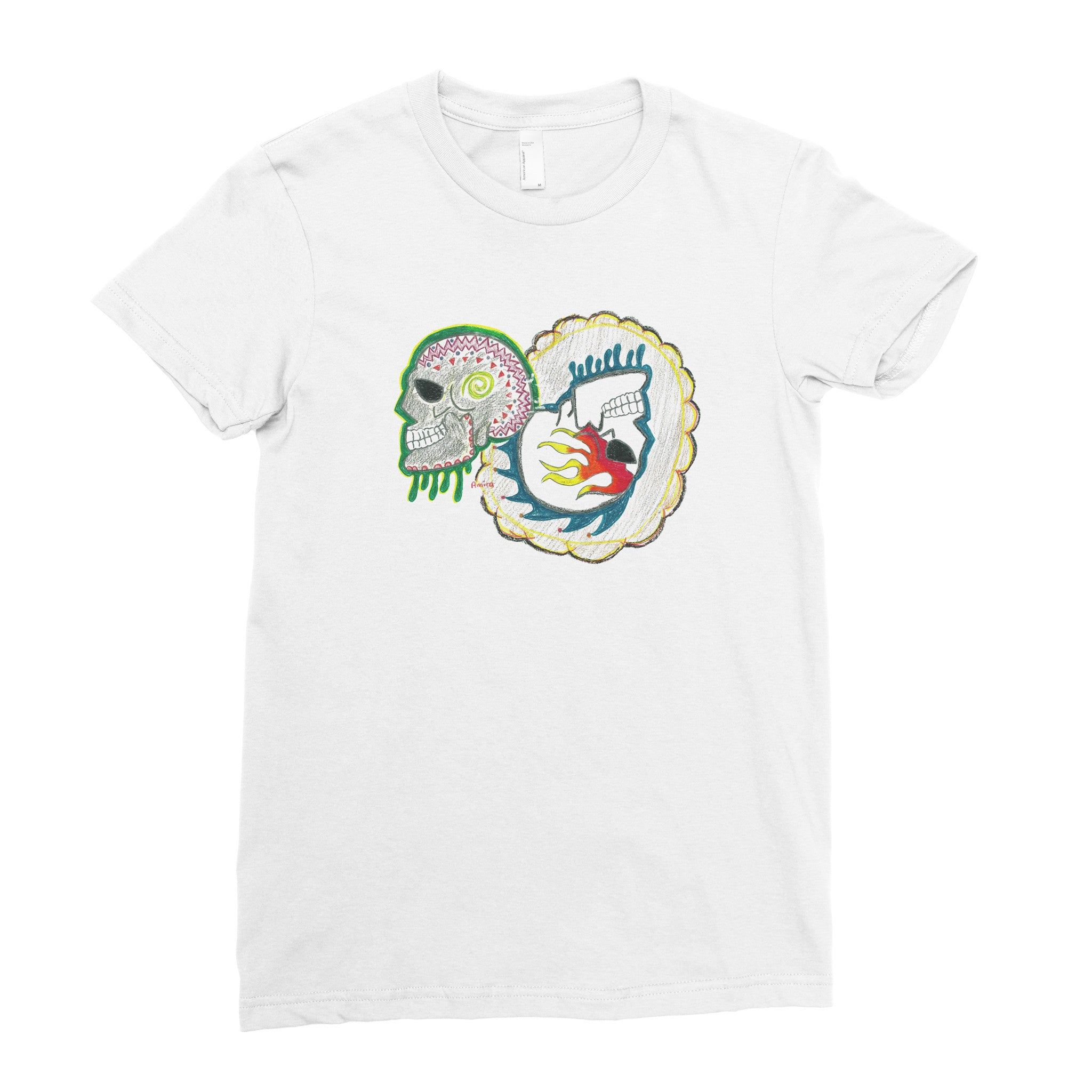 Amira, 8th grade - Adult T-shirt - Rightside Shirts