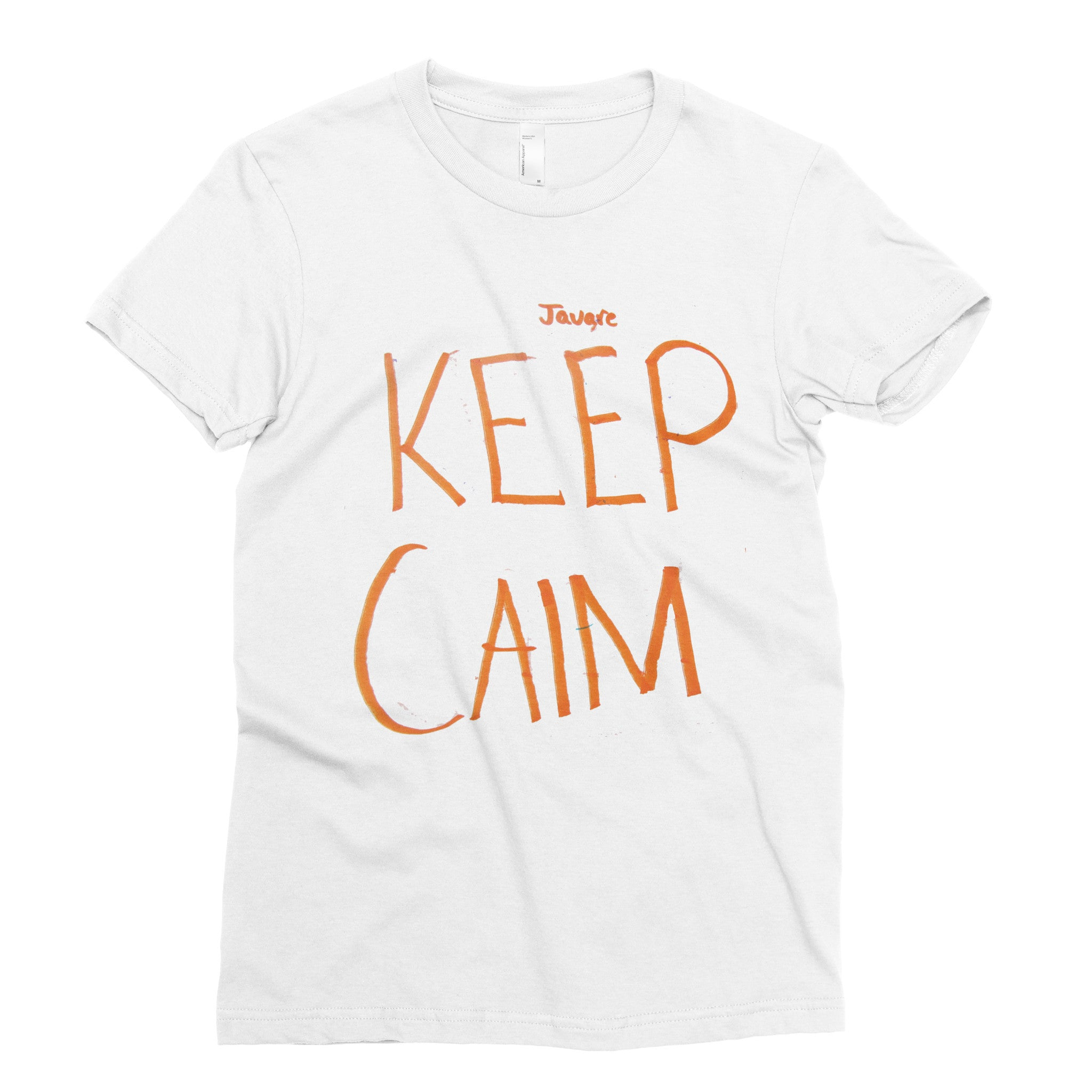Keep Calm - Adult T-shirt - Rightside Shirts