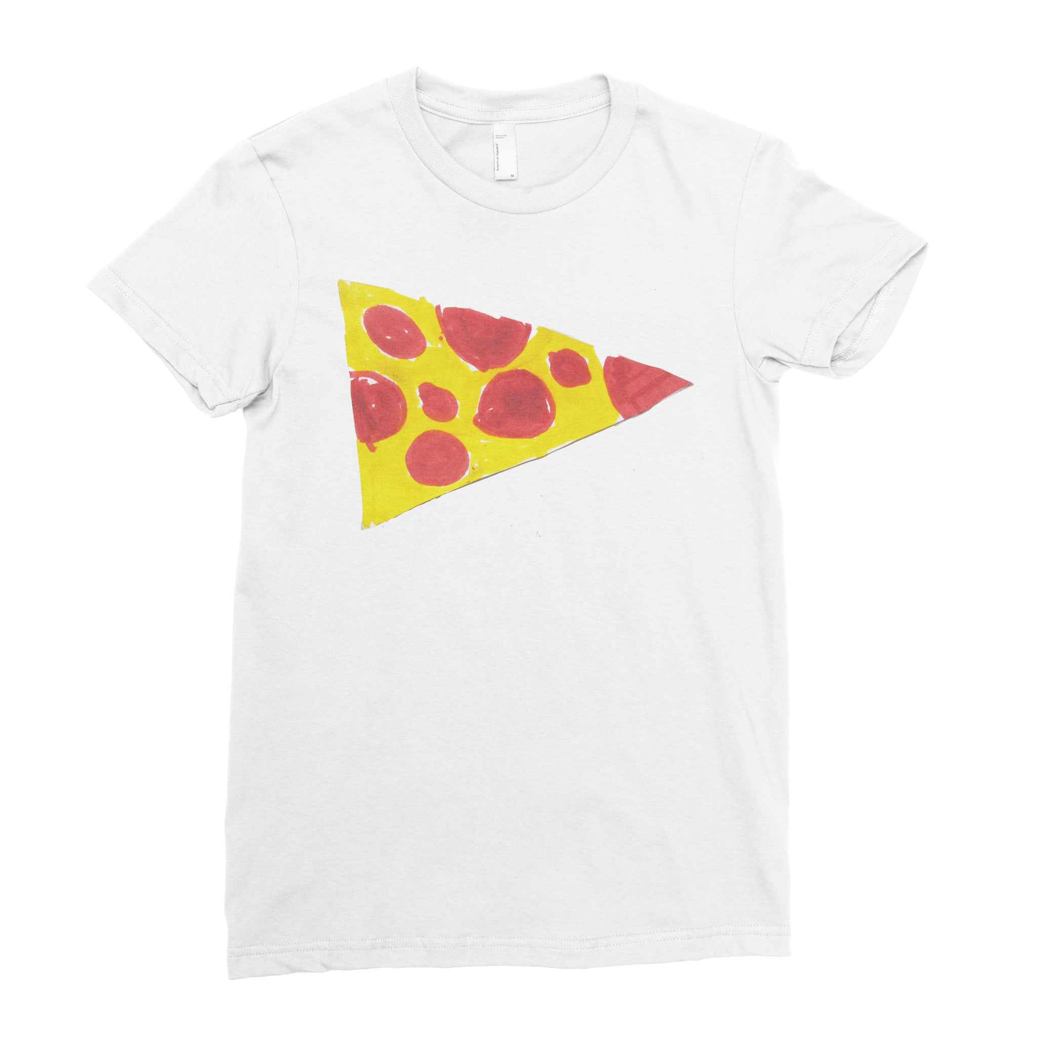 Pizza!!!! - Adult T-shirt - Rightside Shirts