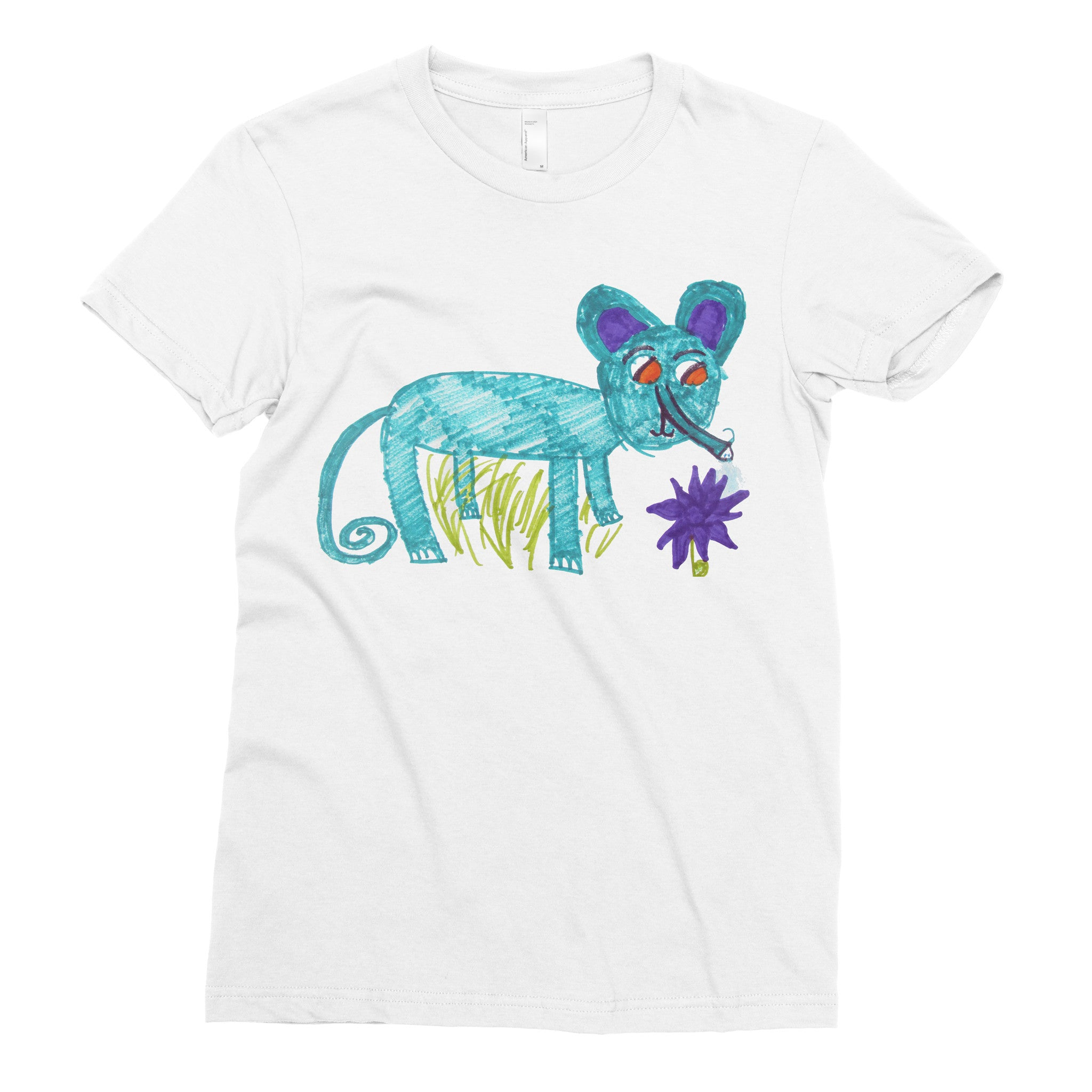 Mike the Molphant - Adult T-shirt - Rightside Shirts