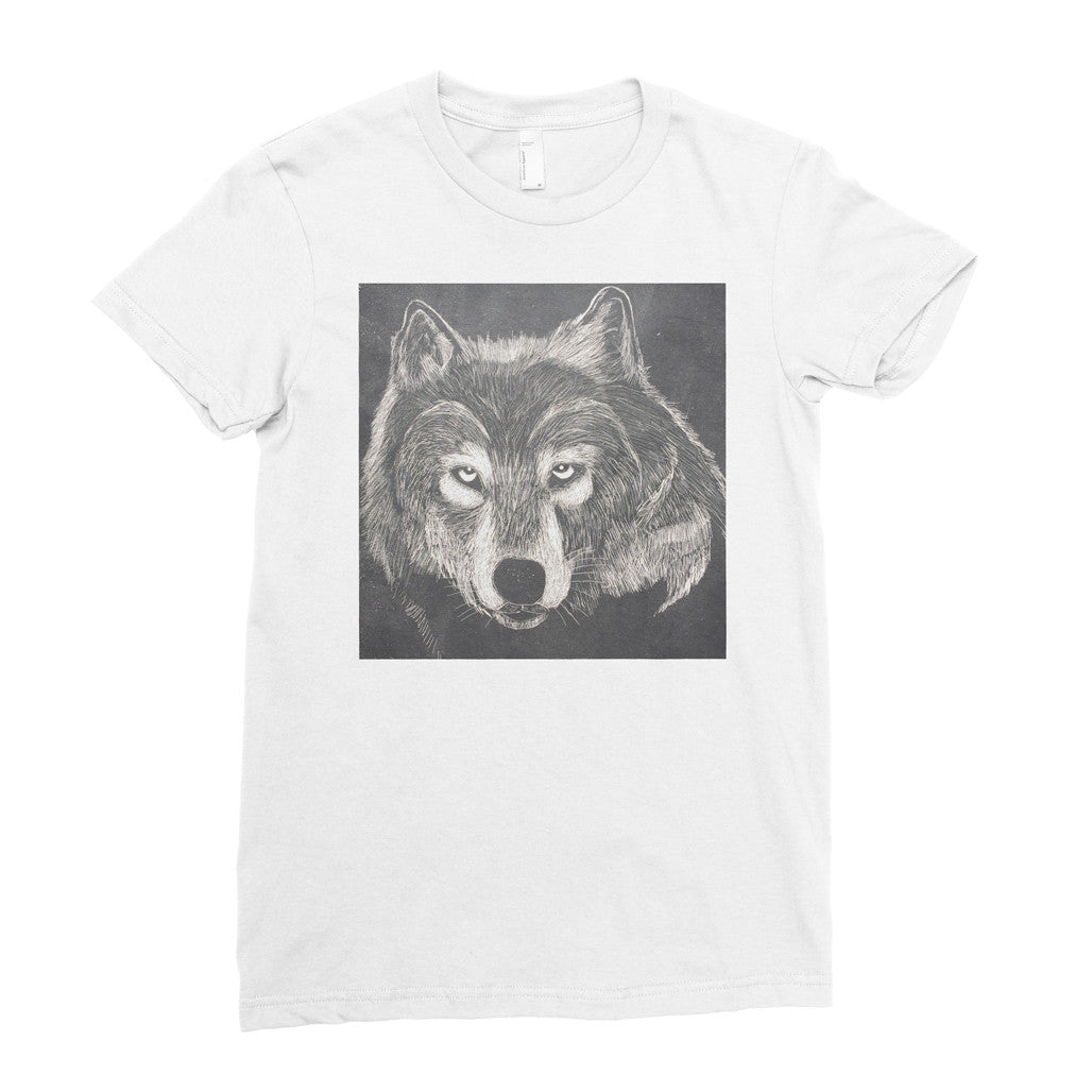 The Wolf by Kevin, 15 years old - Adult T-shirt - Rightside Shirts - 1