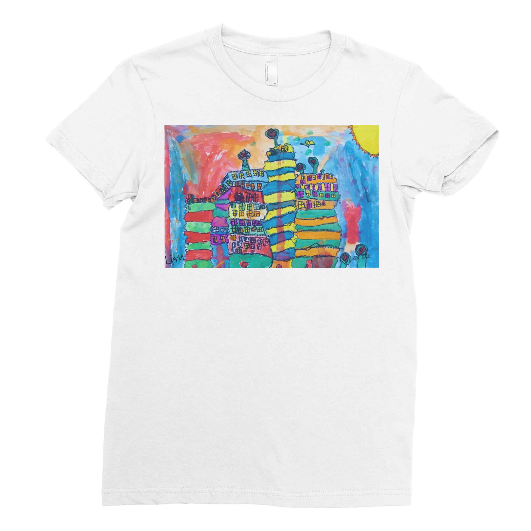 Liam, K2 - Adult T-shirt - Rightside Shirts