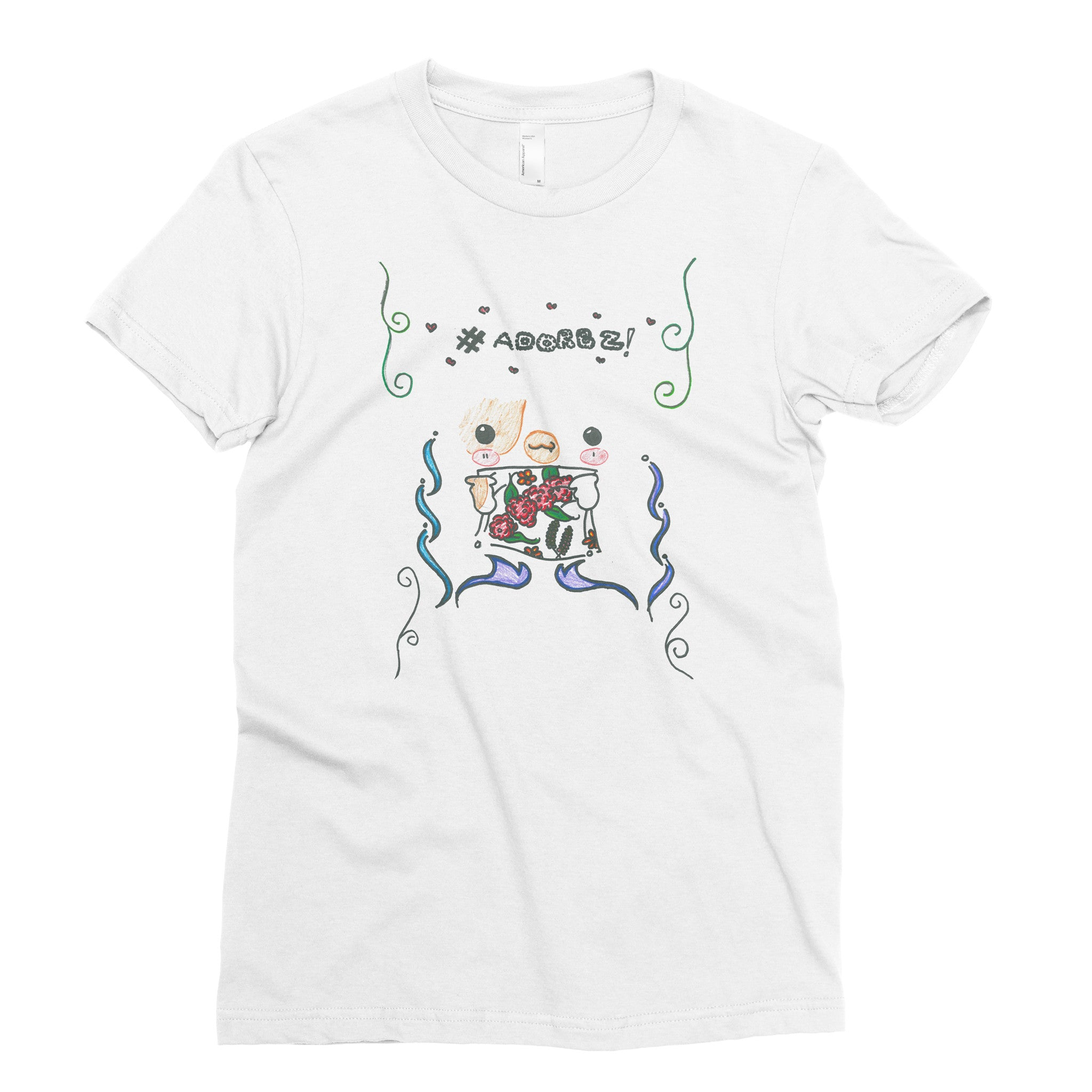 Kami, 7th grade - Adult T-shirt - Rightside Shirts