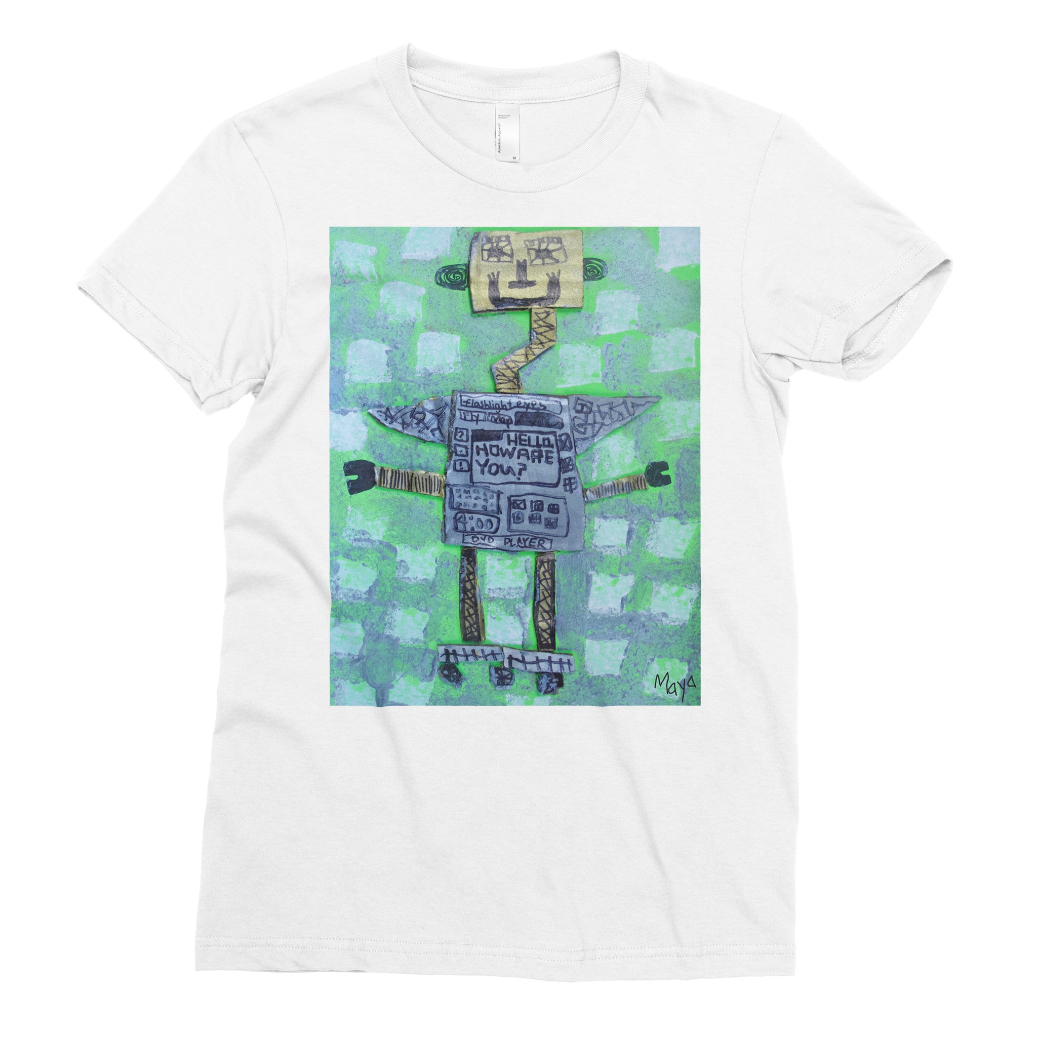Maya, 2nd grade - Adult T-shirt - Rightside Shirts - 1