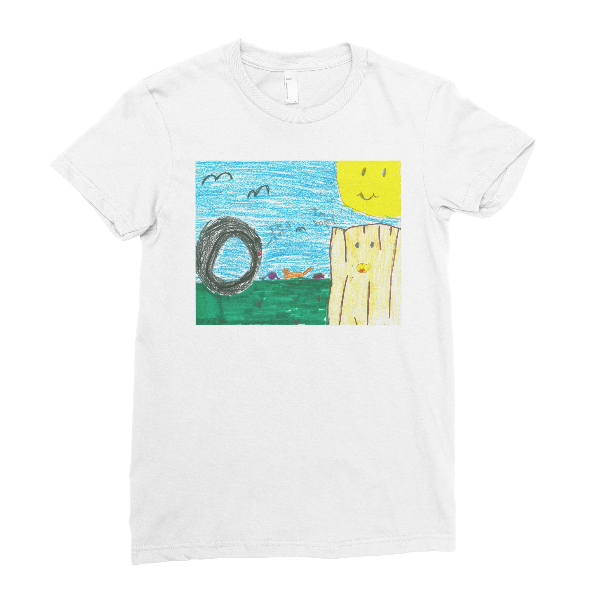 Cassidy, 3rd grade - Adult T-shirt - Rightside Shirts