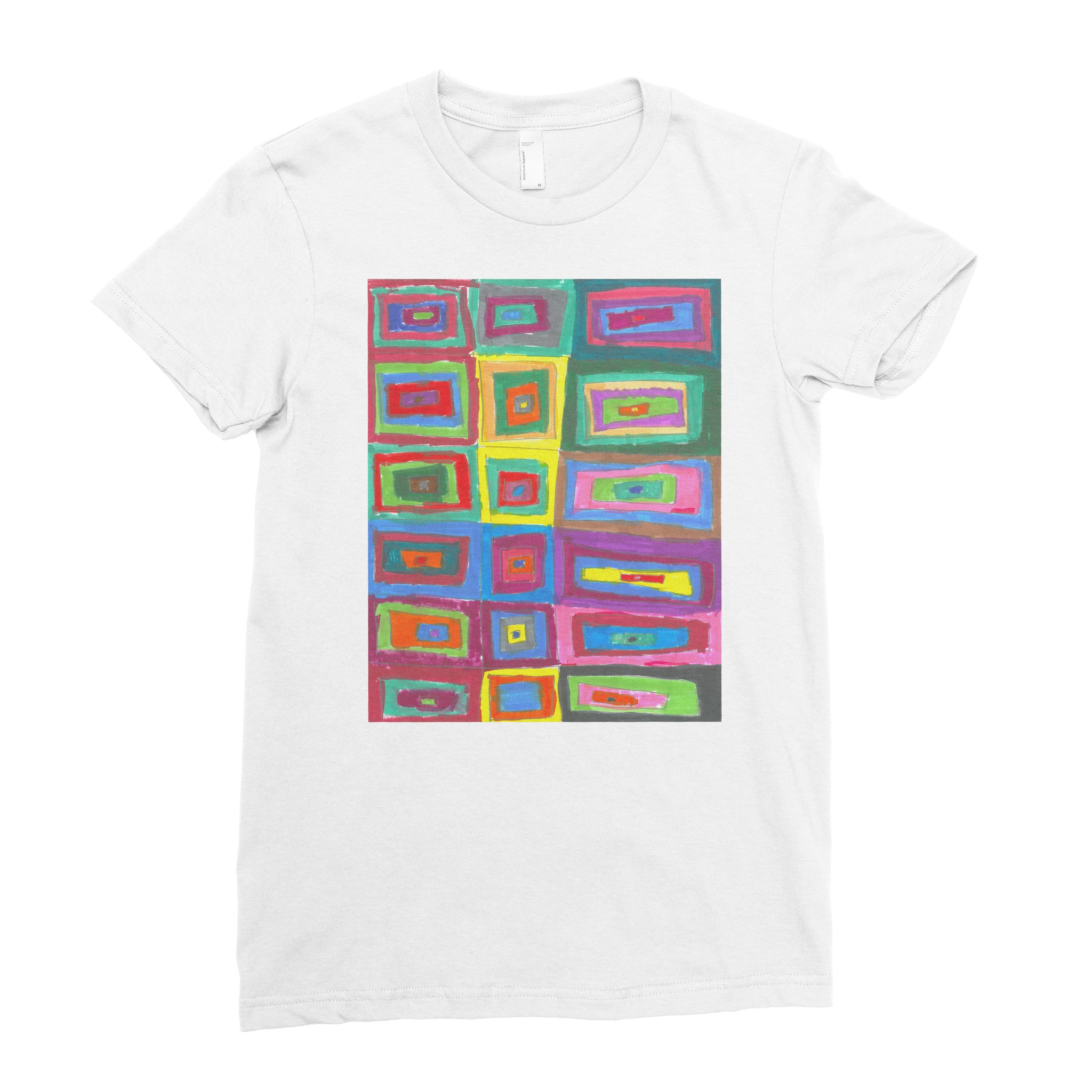 Yanelis, 4th grade - Adult T-shirt - Rightside Shirts