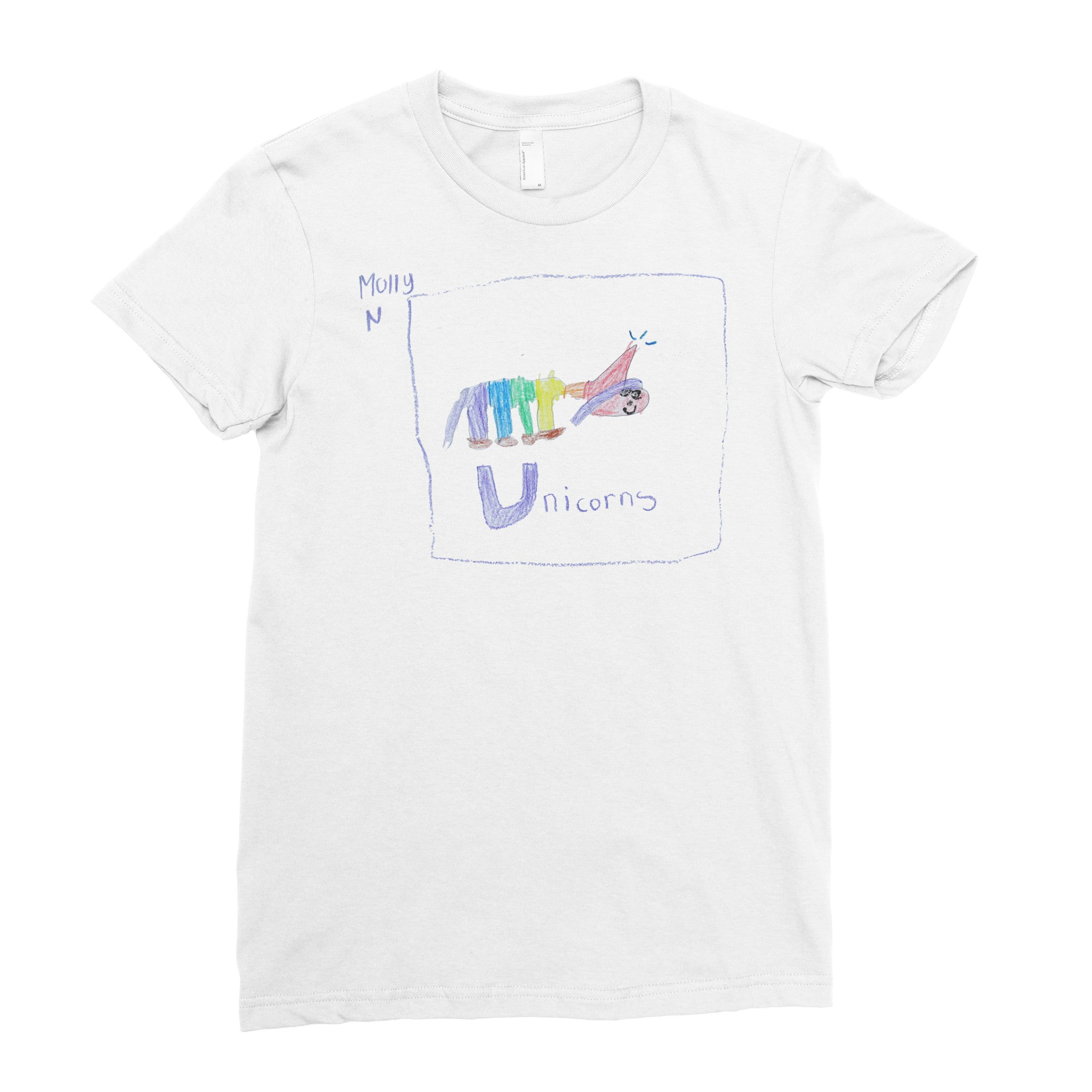 Unicorn Time - Adult T-shirt - Rightside Shirts