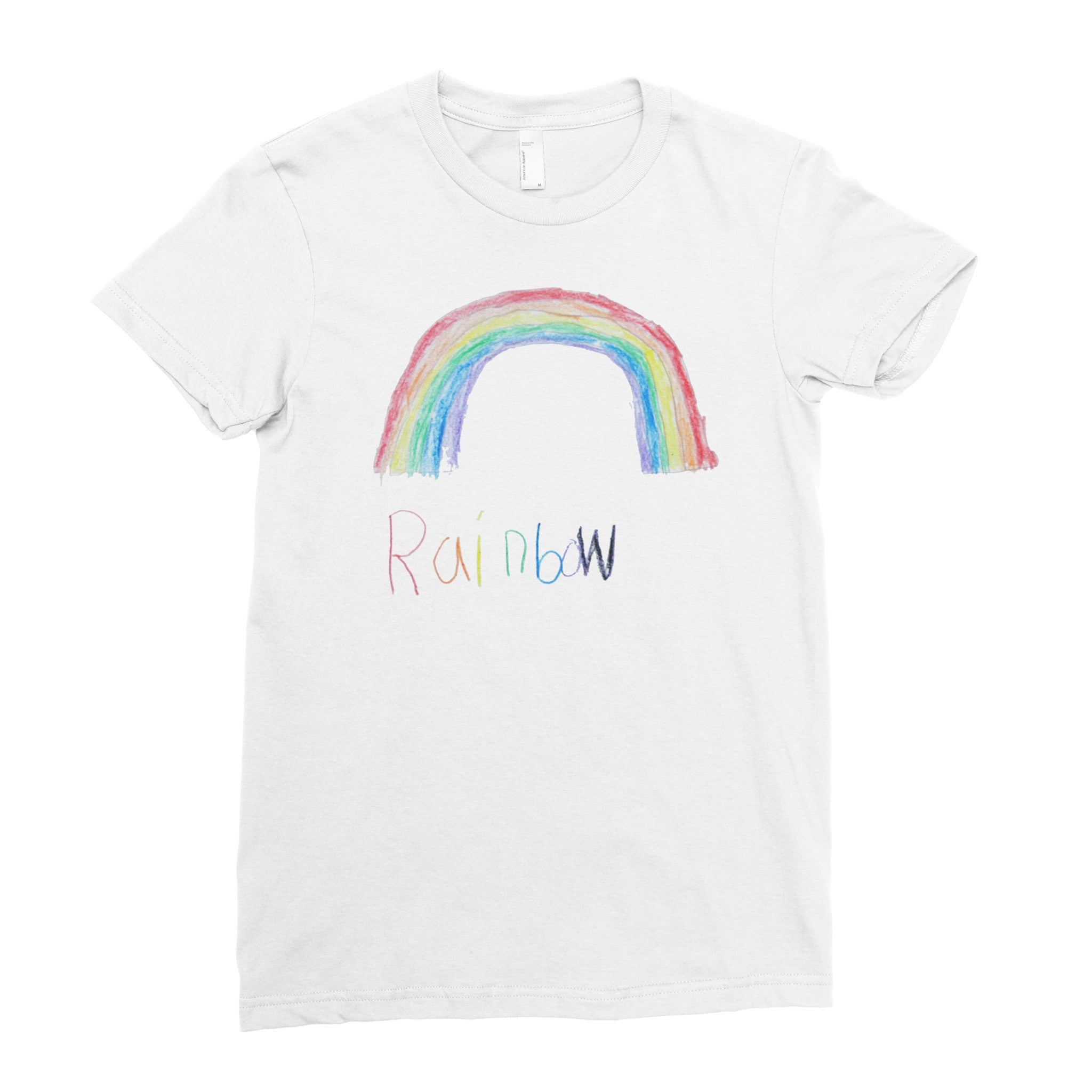 Molly's Rainbow - Adult T-shirt - Rightside Shirts