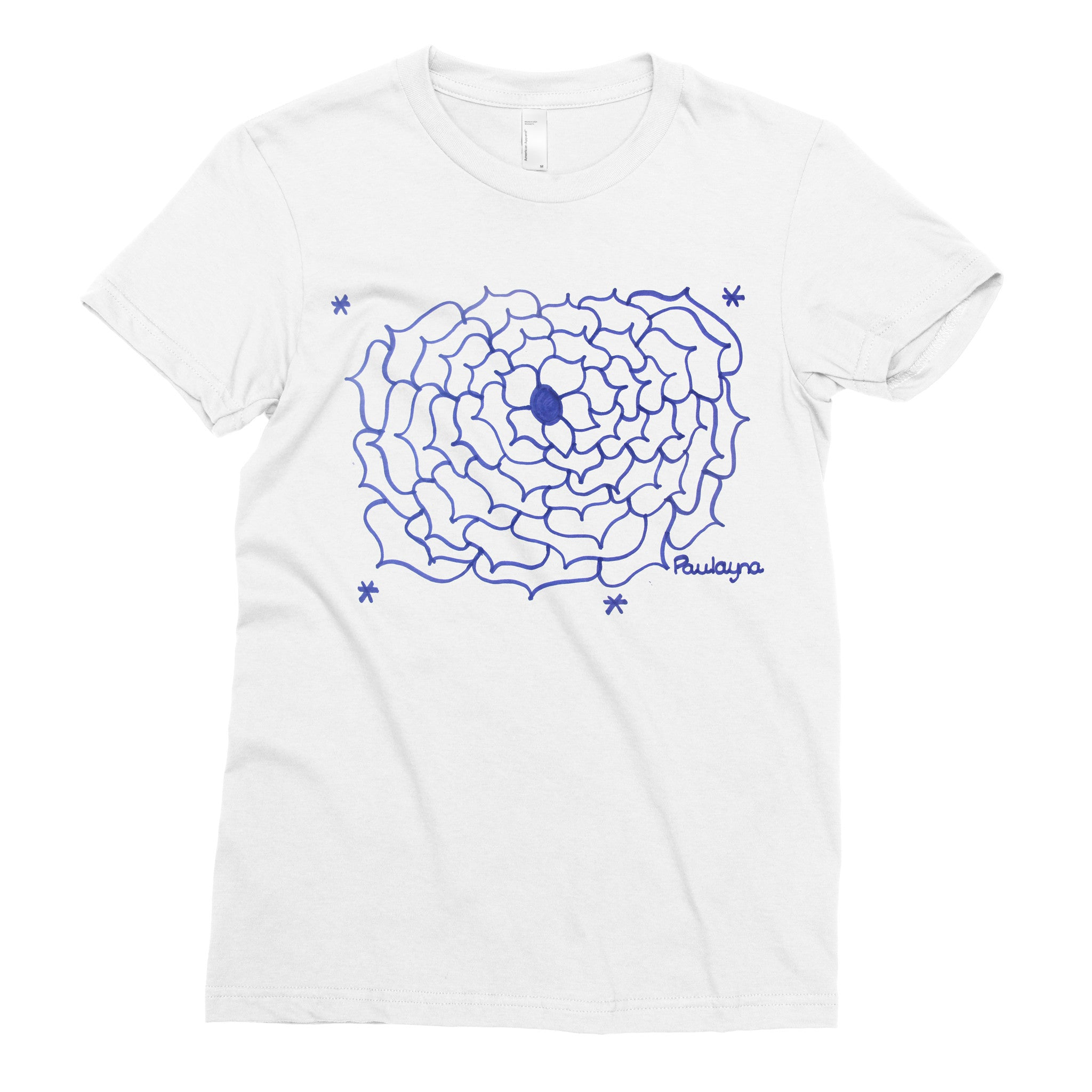 The Flower Design - Adult T-shirt - Rightside Shirts