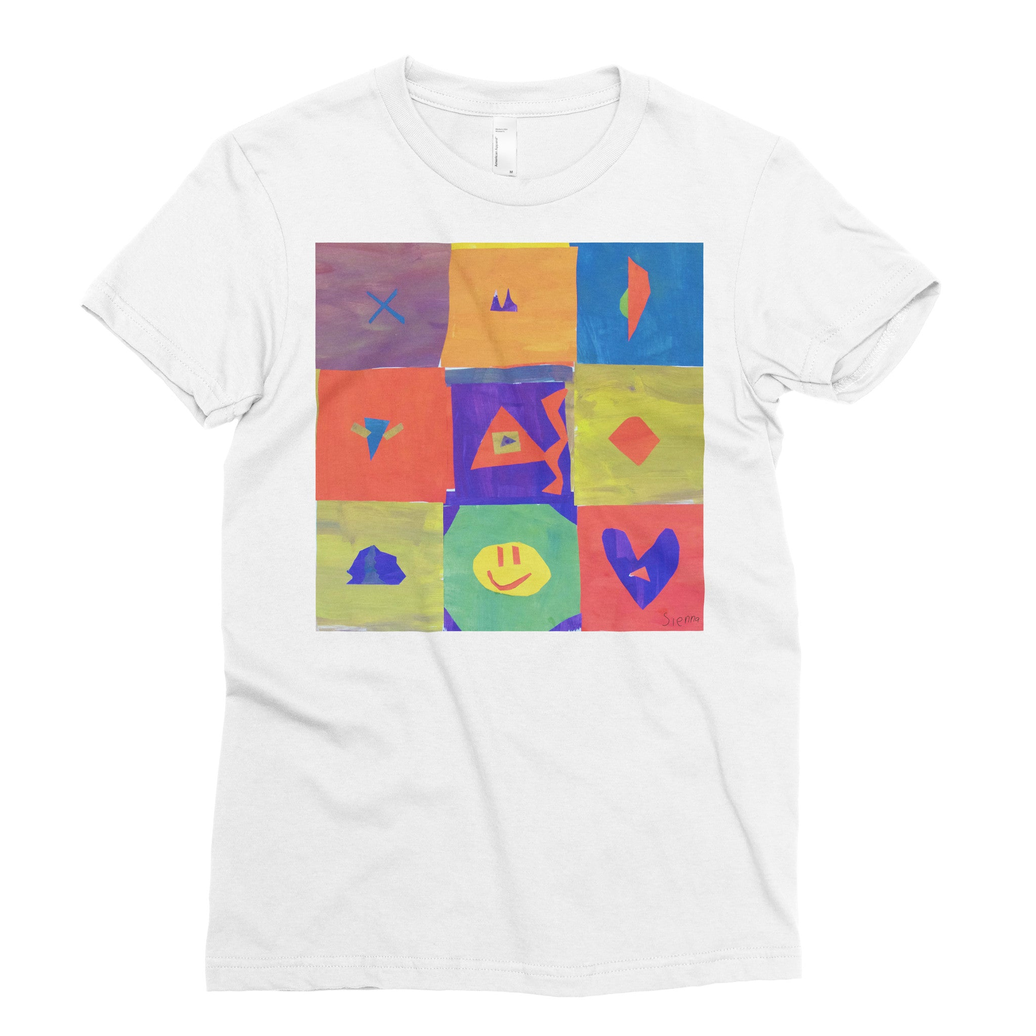 Sienna, 4th grade - Adult T-shirt - Rightside Shirts - 1