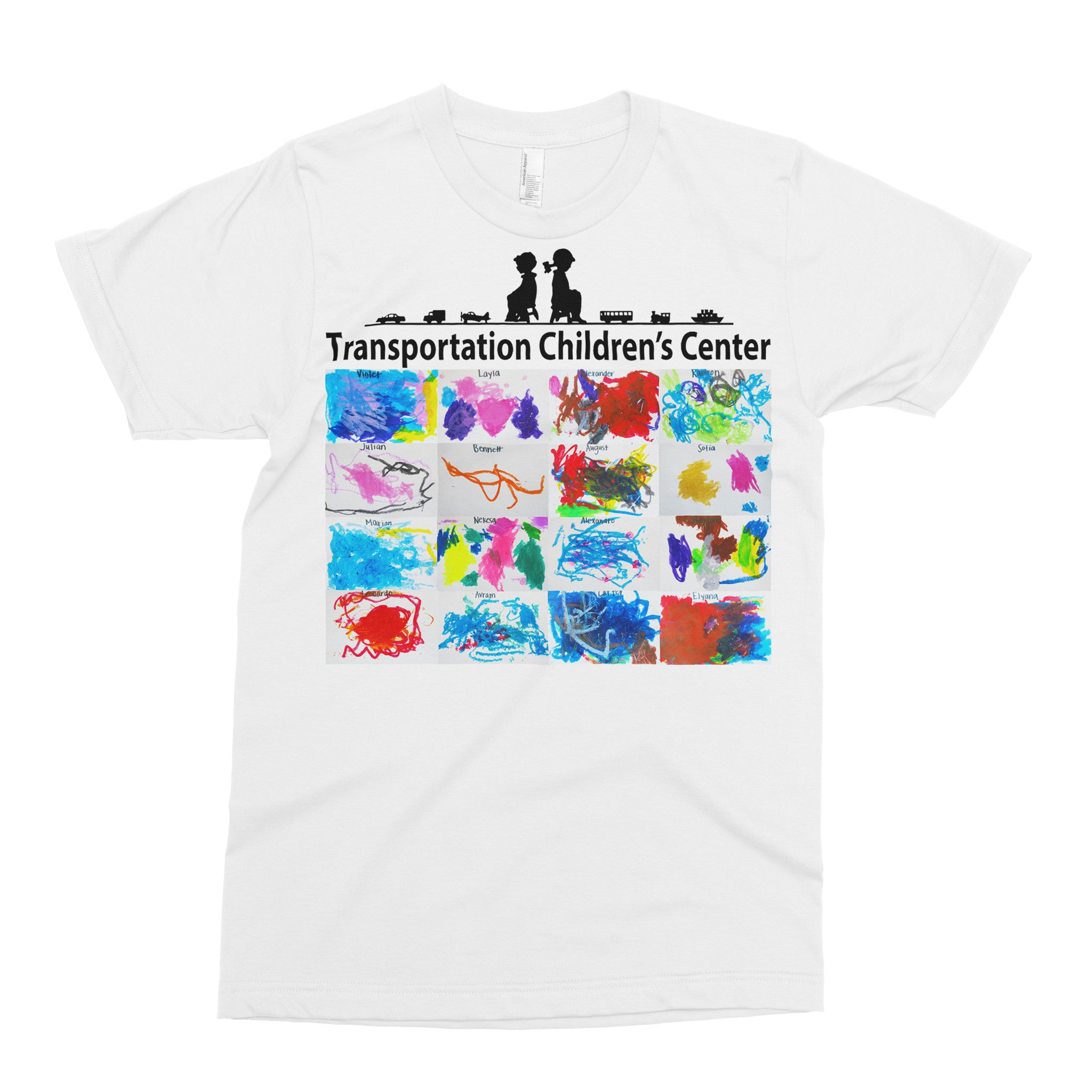 Junior Preschool - Adult T-shirt - Rightside Shirts