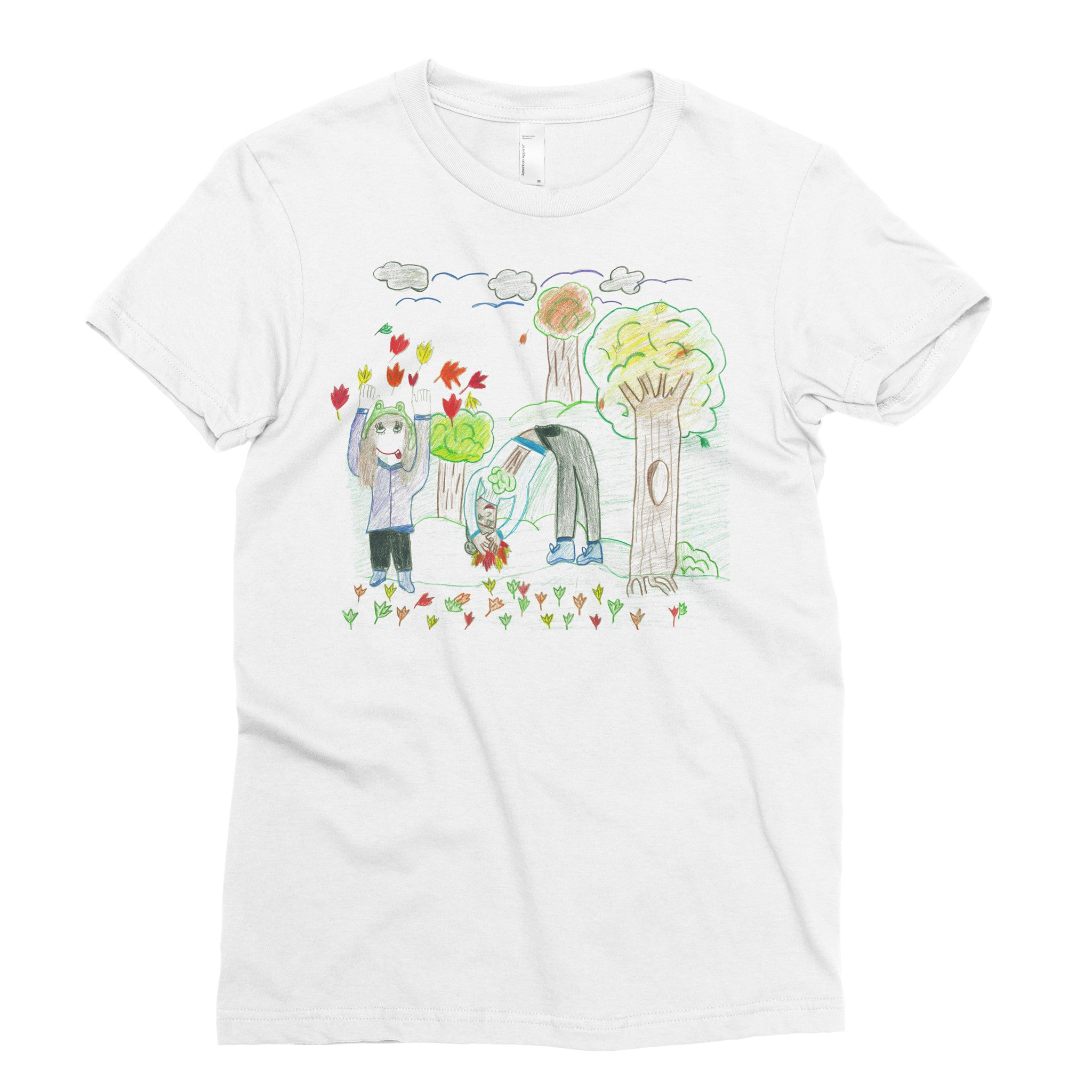 Ann Lorie, 5th grade - Adult T-shirt - Rightside Shirts
