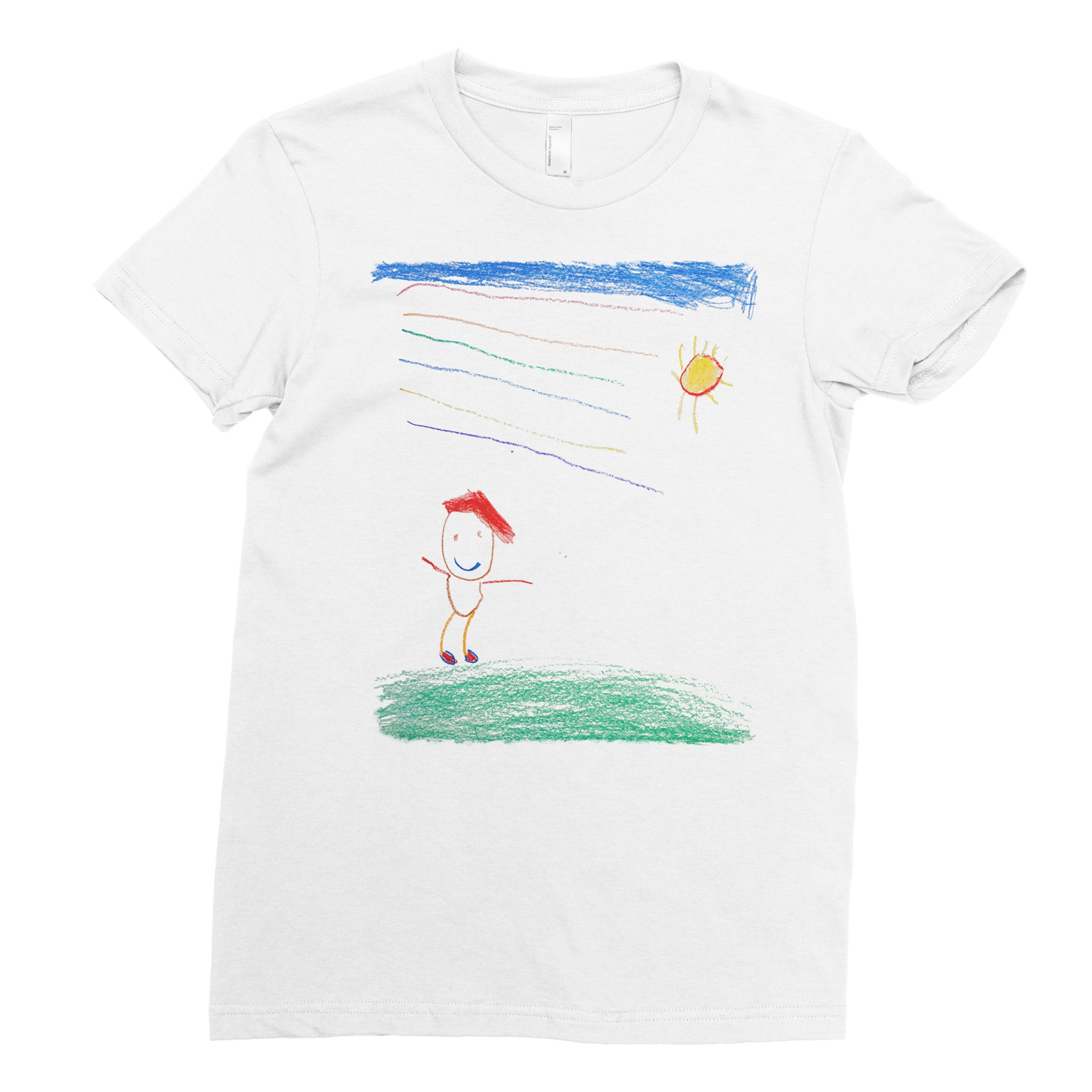 Safiya, kindergarten - Adult T-shirt - Rightside Shirts