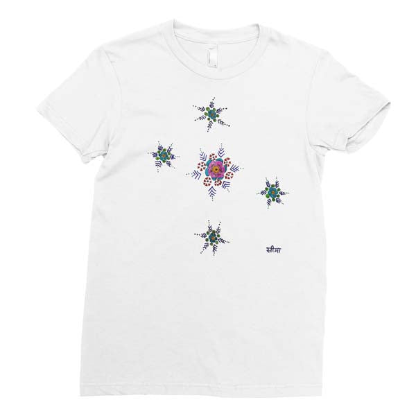 Star Flowers - Adult T-shirt - Rightside Shirts