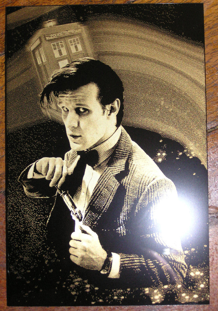 The Doctors Who Limited Edition Geekograph Metal Art