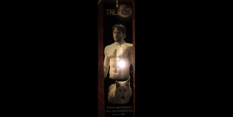 True Blood Alcide Bookograph Metal Bookmark