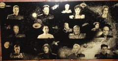 Babylon 5 Geekograph Limited Edition Metal Art