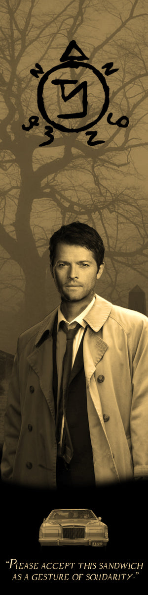Supernatural Bookograph Metal Bookmark