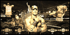 John Cena Smarkograph Limited Edition Metal Art