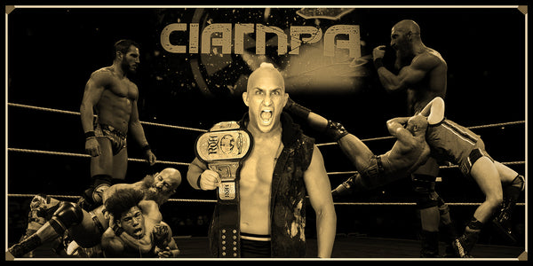 Tommaso Ciampa Smarkograph Limited Edition Metal Art