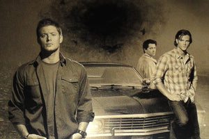 Supernatural: The Boys Mini Geekograph Limited Edition Metal Art