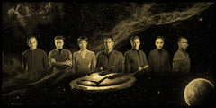 "Star Trek ""Enterprise"" Limited Edition Geekograph Metal Art"