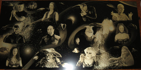 Farscape: The Crew of Moya Geekograph Limited Edition Metal Art