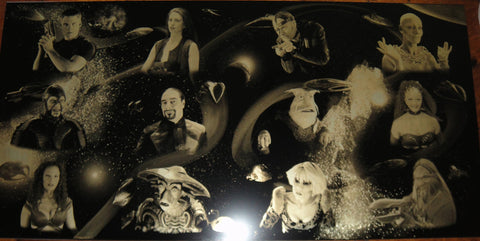 Farscape Geekograph Mini Limited Edition Metal Art