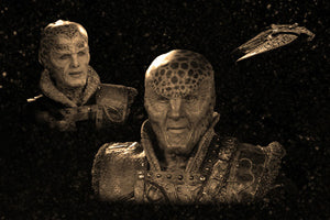 Babylon 5 Geekograph Mini Limited Edition Metal Art