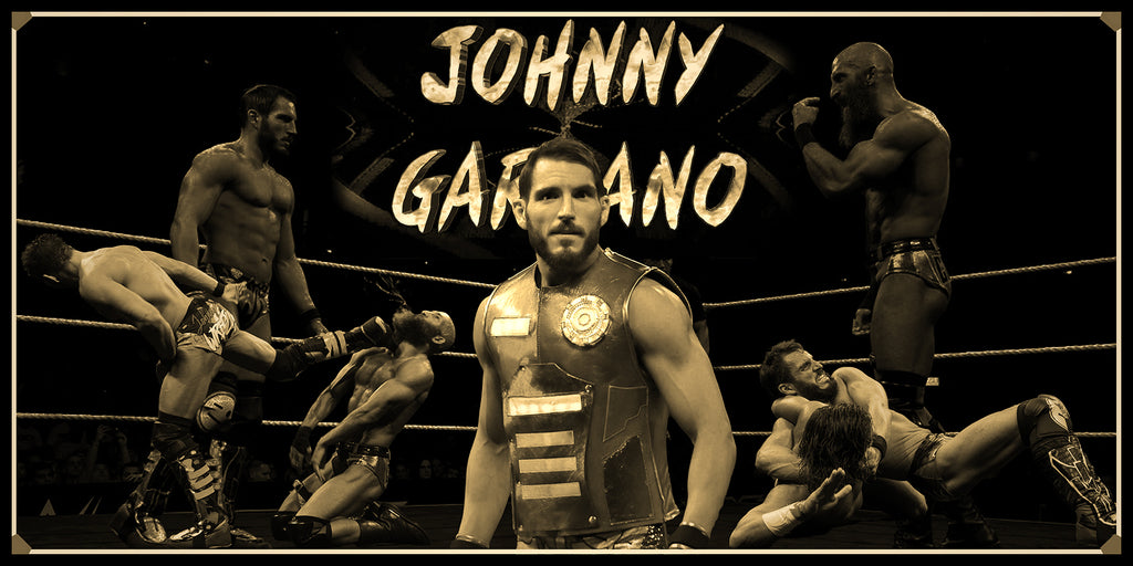 Johnny Gargano Smarkograph Limited Edition Metal Art