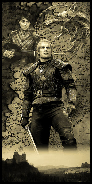 Witcher Limited Edition Geekograph Metal Art