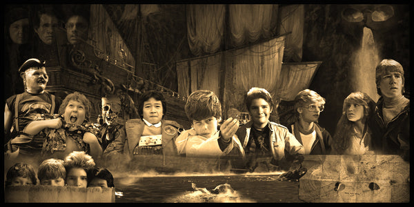 The Goonies Geekograph Limited Edition Metal Art