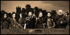Game of Thrones House Stark Geekograph Limited Edition Metal Art