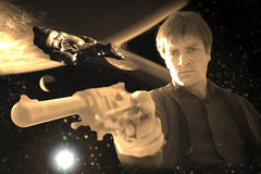 Firefly Serenity Best in the 'Verse Geekograph Limited Edition Mini Metal Art